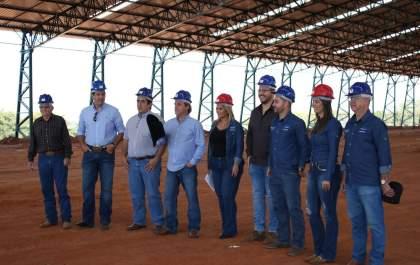 b85216297 Presidente da ABQM visita obras para campeonato no recinto de Araçatuba