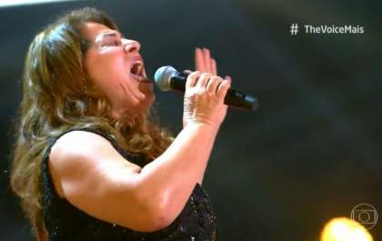 Sueli Rodrigues está na semifinal do The Voice+