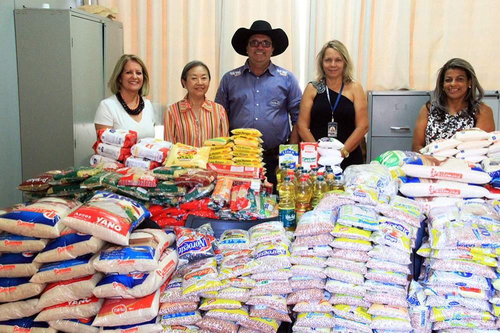 a242a337e3 Fundo Social de Solidariedade recebe doação de alimentos - Hojemais ...